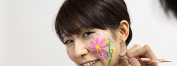 learn japanese face painting with miracle paint voyagin ボヤジン