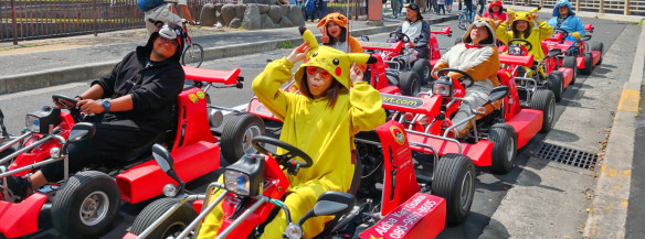 25 off rent a go kart and ride around osaka with guide voyagin