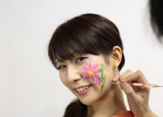 Learn Japanese Face Painting with Miracle Paint
