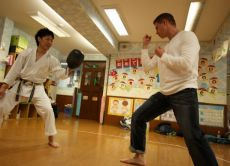 Take Karate Lessons from a Black Belt Master