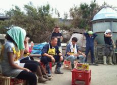 Aid in the Recovery of the Quake-Striken Tohoku Area