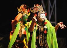Learn Traditional Javanese Crafts: Mask Making and Dancing