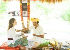 Participate in Agni Hotra, a Fire Healing ceremony