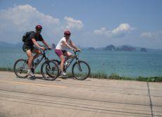 Take a bike tour through Koh Yao Noi