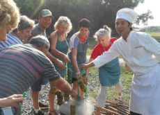 Take a farm trip and cooking class in Ho Chi Minh