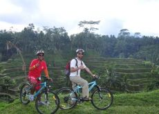 Cycle From Mount Batur Through Bali's Countryside