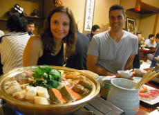 Eat Sumo Wrestler Hot Pot in the Old Sumo Stable