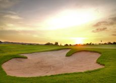 Play Golf as you Watch a Beautiful Sunset in Bali