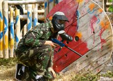 Battle Your Friends at an Exhilarating Paintball Game