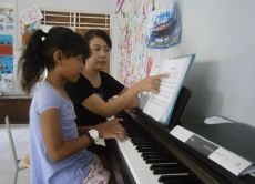Sponsor Piano Lessons for talented Orphans
