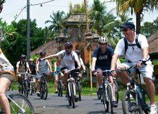 Go Village Cycling around the Scenic Carangsari Village