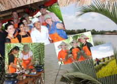 A Glimpse of the Mekong with Cooking Class (On a Vespa)