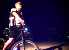 Let's Go Cycling to Late Night Lake Biwa & Ramen Supper