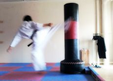 Practice Japanese Martial Arts Aikido or Karate.