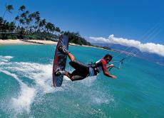 Kitesurf Across Bali's Waves