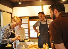 Experience traditional Japanese cooking in Kyoto