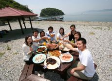 Join a sea picnic in Yatsushiro sea