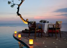 Romantic Oceanfront Candlelight Dinner at Uluwatu