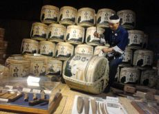 Take a Casual Sake (Rice Wine) Brewery Tour in Kobe area