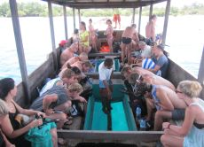 Gili Islands Snorkel Trip by Glass Bottom Boat