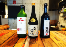 Take part in a sake introductory class and taste fine sake