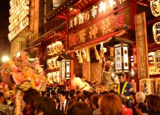 Tour Asakusa's Lucky Fortune Rake Festival with a Rickshaw!