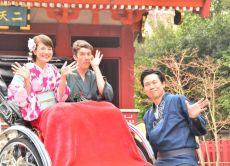 Enjoy Rickshaw Tour with Kimono Dressing in Tokyo