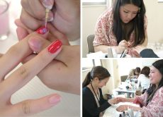 Enjoy learning nail technique in Tokyo