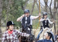 Japanese Traditional Mounted Archery Yabusame