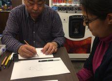 Take a Manga drawing class in Nagoya