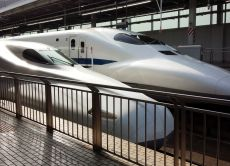 See the high-speed Shinkansen and eat Tempura in Osaka