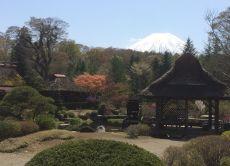 Beautiful views of Mt. Fuji 5th station and Lake Kawaguchi