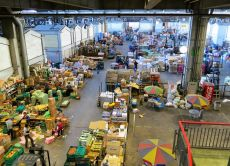 Enjoy a private tour of the large Ota Market in Tokyo