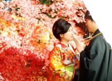 Take Wedding Photos in Kyoto in Kimono and Visit a Cafe!