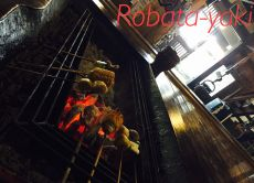 "Experience eating ""Robata-yaki"" barbecue near Mt. Fuji"