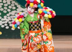 Experience Japanese traditional dance & wearing kimono