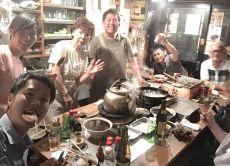 Enjoy cuisine and bar culture in a local bar in Shizuoka
