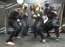 Experience ninja weapons and martial arts in Tokyo