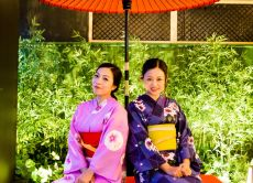 Learn how to wear kimono and get photographed in Ginza!