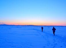Explore the drift ice of Okhotsk Sea in Hokkaido