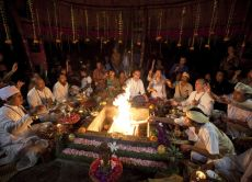 Full Moon Eve Fire Healing ceremony
