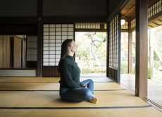 Private Zen Meditation and Tea Ceremony in a Temple, Tokyo