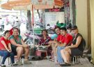 Savour the street food of Ho Chi Minh City on a motorbike
