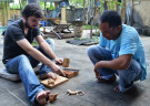 Wood Carving with a Professional