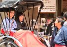 Enjoy a historical rickshaw tour in Asakusa with Ebisuya!