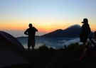 Camp Overnight atop Mt. Batur and see the Sunset & Sunrise