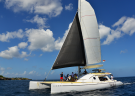 Sail to Scenic Nusa Lembongan on a Luxury Catamaran
