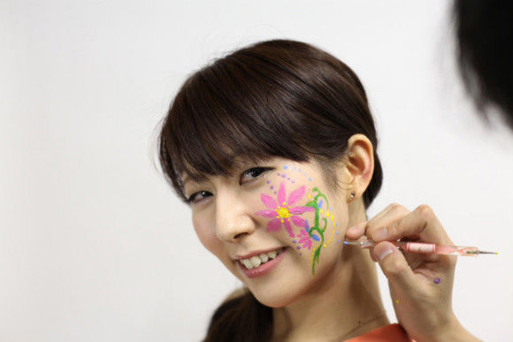 Learn Japanese Face Painting with Miracle Paint - 0
