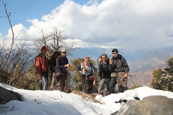 Winter in Tungnath: Trek to the World's Highest Shiva Temple - 0