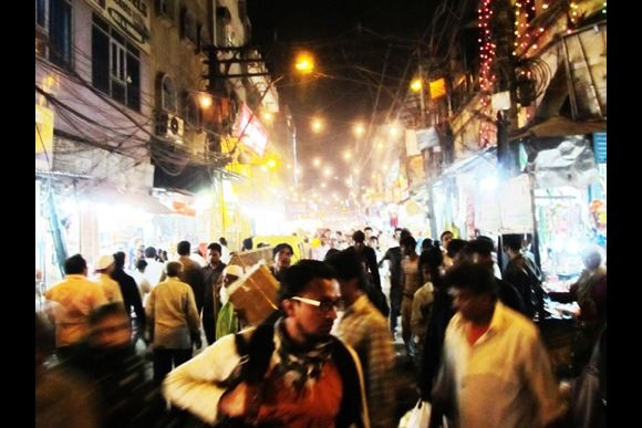 Night Walk in Chandni Chowk - 0